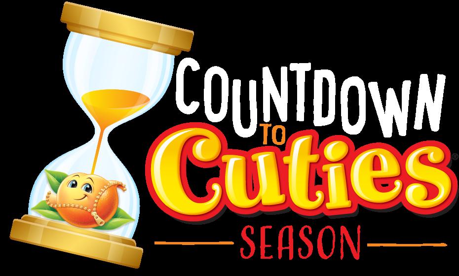 Countdown to Cuties Season Logo