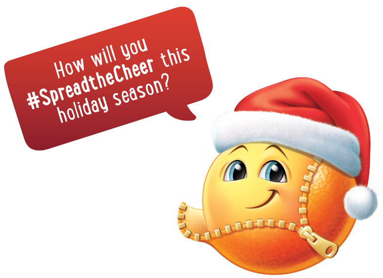 How will you #spreadthecheer this holiday season?