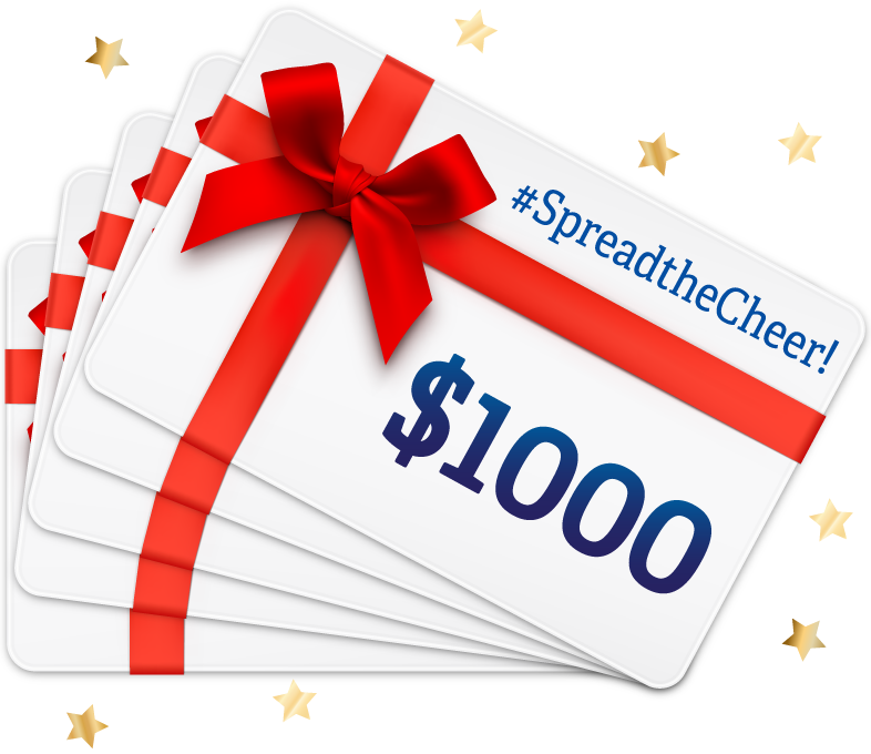 spread the cheer giftcard